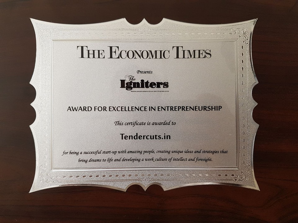ET Igniters award
