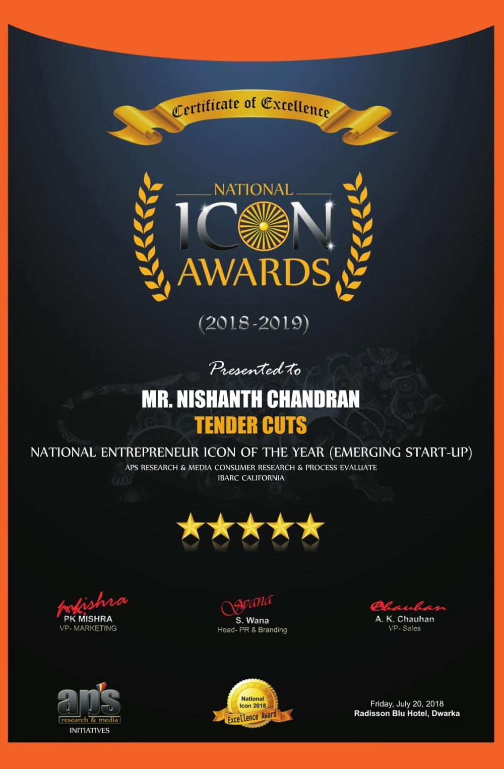 National Icon Award-1
